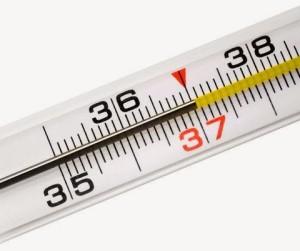 Может повыситься температура тела